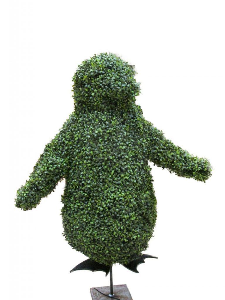 1 metre artificial topiary Penguin