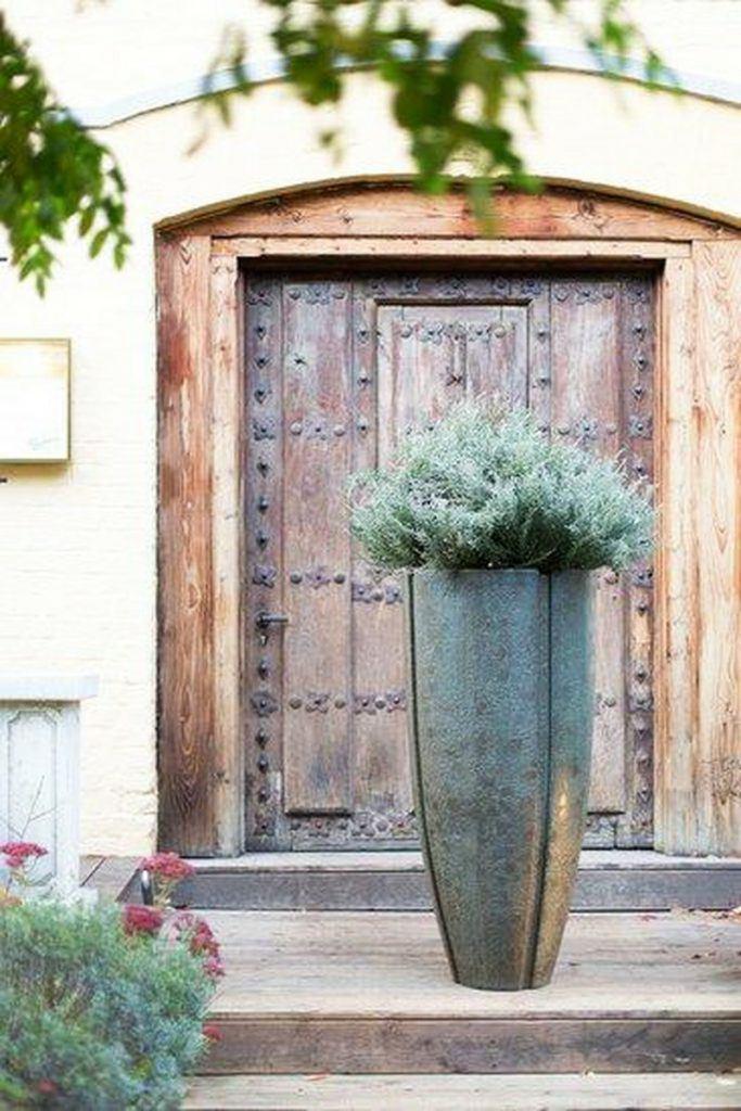 120cm patina planter in verdigris bronze