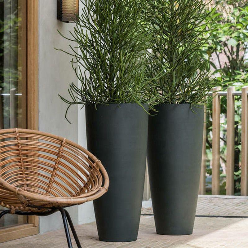 99cm Dax stone resin planter