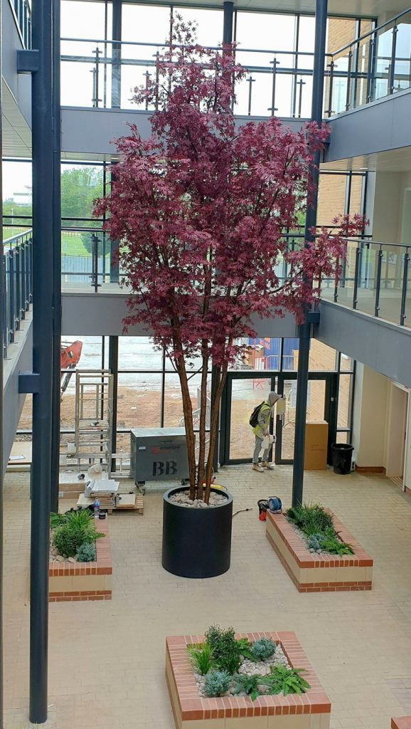 Artificial 8 Metre layered maple tree
