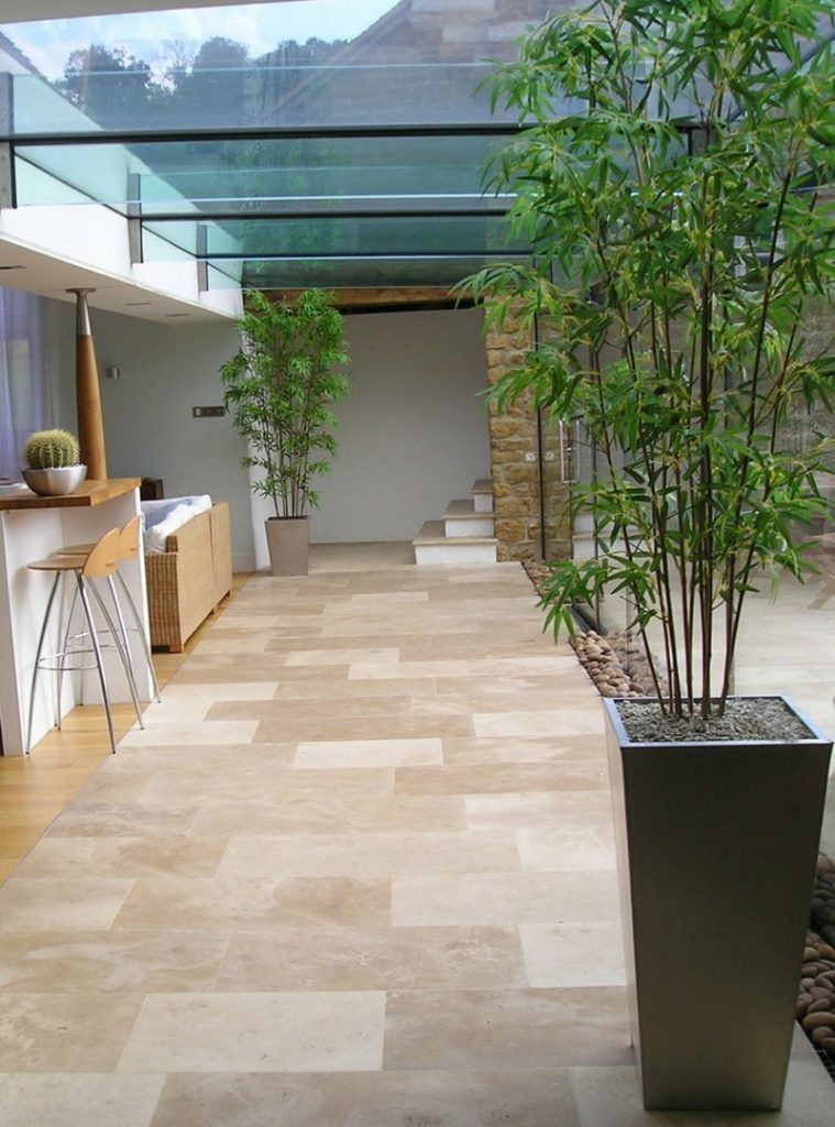 Artificial Bamboo in kitchen