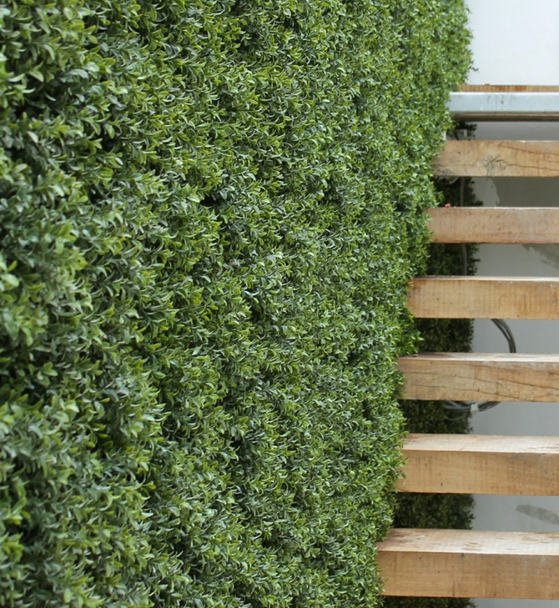 Artificial Buxus Boxwood Wall on London