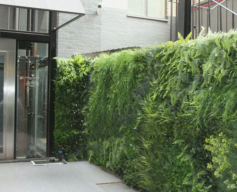 Artificial Green Wall exterior