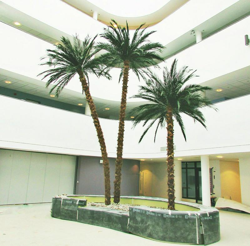 Artificial Phoenix palm trees 1