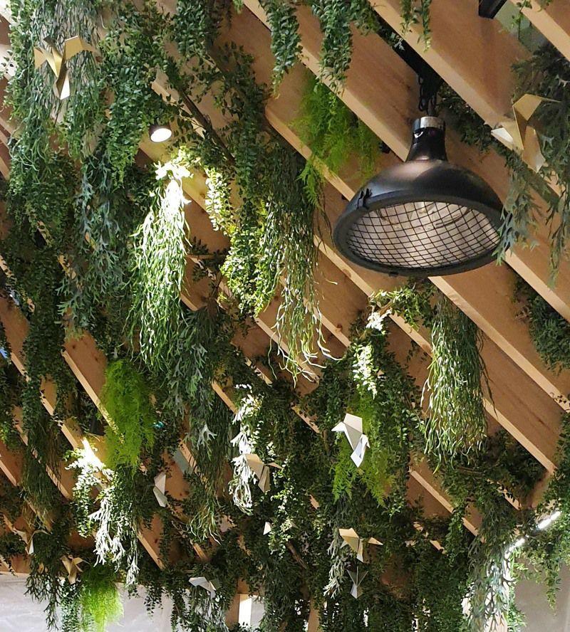 Artificial Trailing Plants Ceilings
