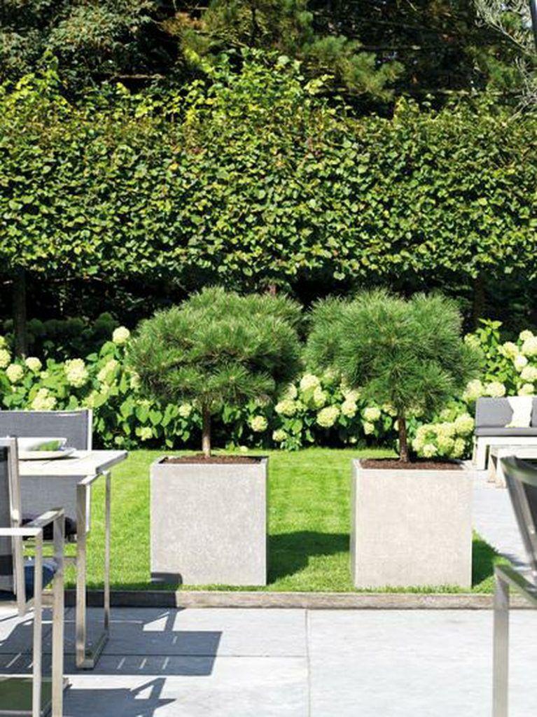 Division plus natural concrete planter 80cm