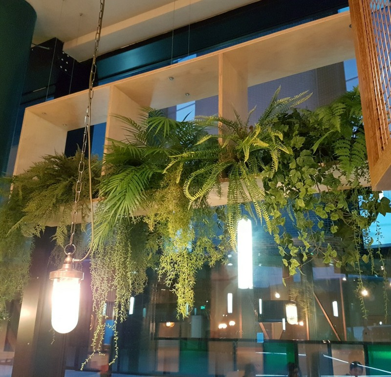 High Level artificial ferns and vines