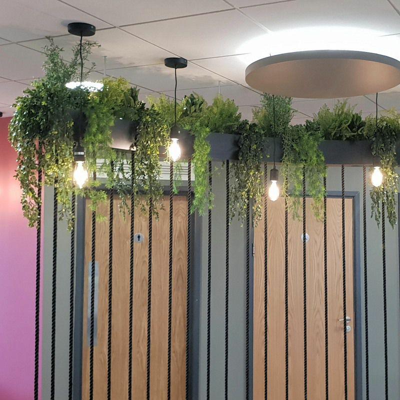 High level artificial Planting interior