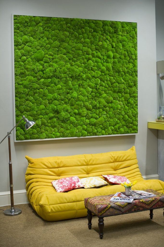 Moss Wall at Somerset House