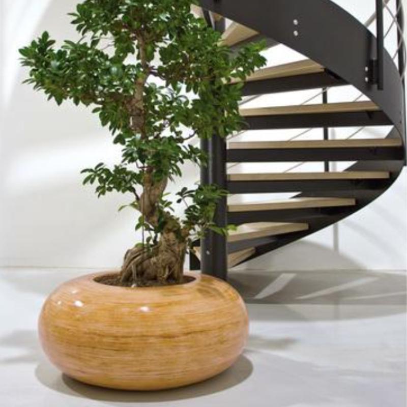 NK DONUT planter of NATURA wicker. 2