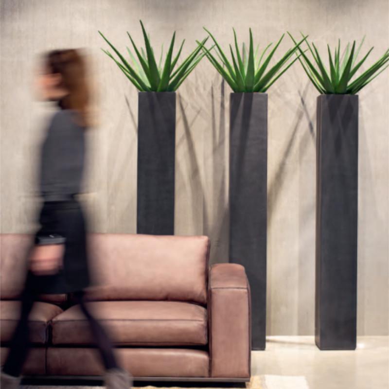FA DIVISION PLUS column planter anthracite 2