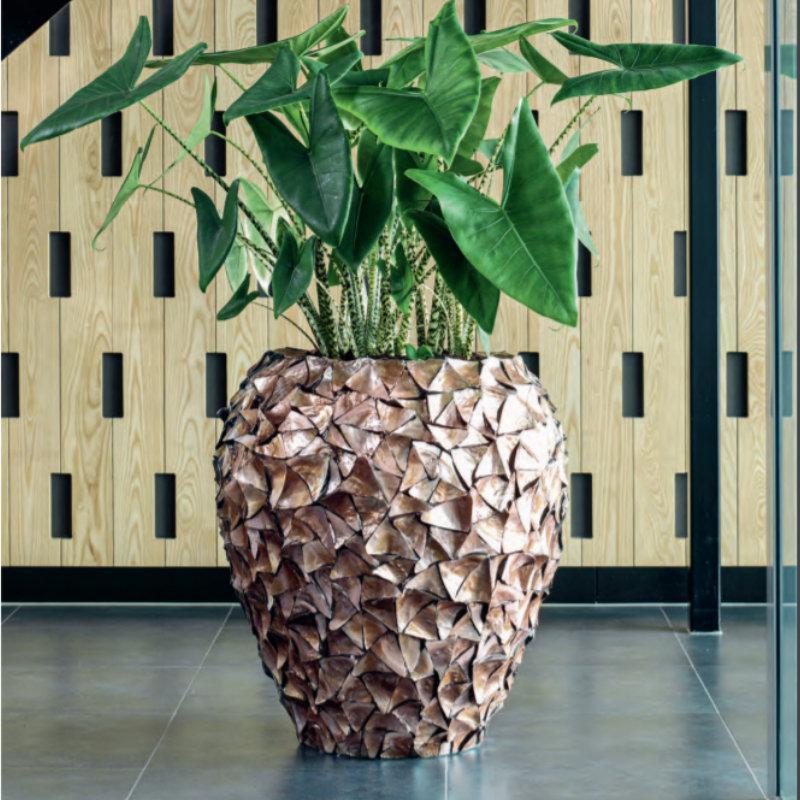 FA SHELL planter MIXED COLOURS 2